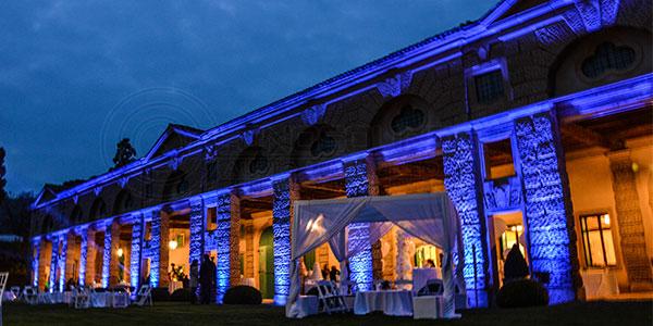Villa Montruglio illuminazione architetturali