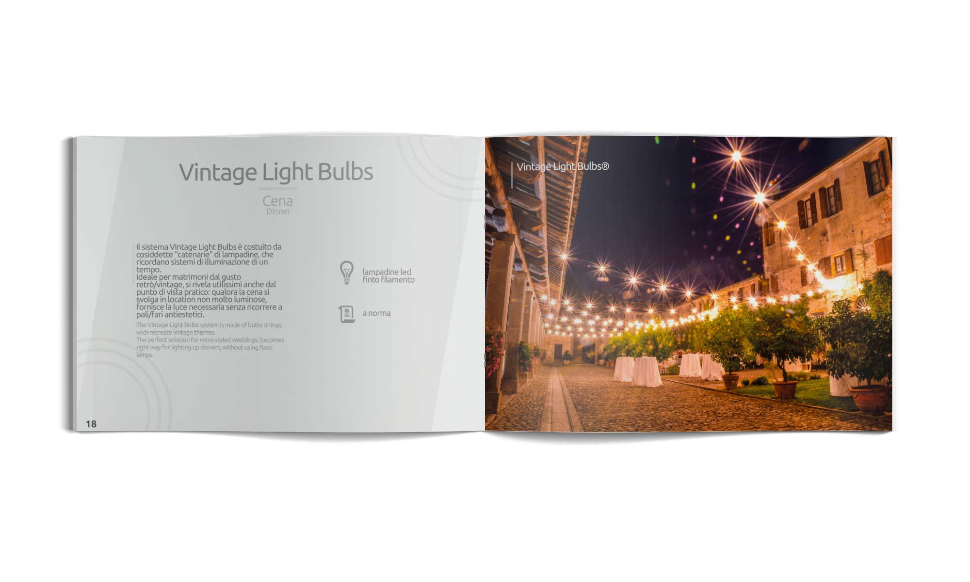 brochure allestimenti luci matrimonio